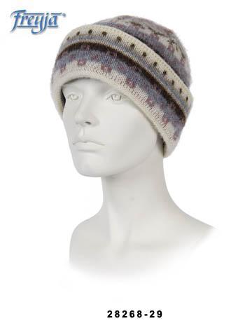 Как связать женскую шапку на спицах.  Ангелина, автор КакПросто.